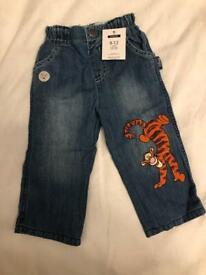 Disney Tiger Jeans - Brand New