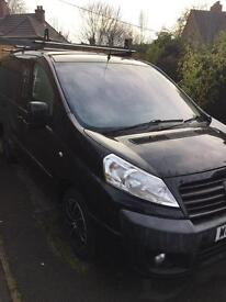 Fiat scudo 1.6 90 mjet, sort after BLACK, 2 seats in the front, diesel only 120000 miles.