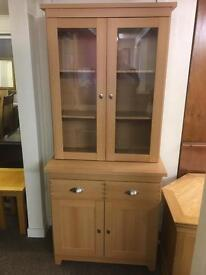 Oak display cabinet * free furniture delivery*