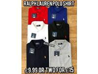 RALPH LAUREN STONE ISLAND POLO T SHIRTS £10 ALSO SHORTS SETS