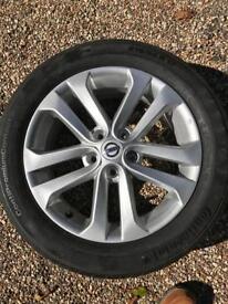 Nissan Juke spare wheel