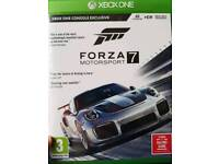 Forza 7 Motorsport for Xbox One Like New unwanted gift