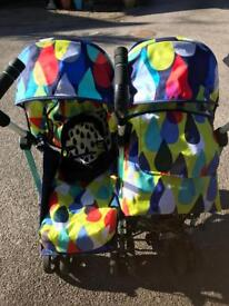 Cosatto double to and fro stroller