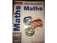 KS3 maths revision workbook