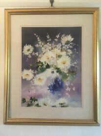 Lillias Blackie Original Oil Painting Floral