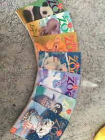 Zoe's rescue zoo books