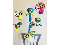 TINY LOVE CLASSIC DEVELOPMENT MUSICAL BABY/ NEWBORN MOBILE FOR COT/ BEF