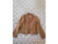 Real leather jacket size 12