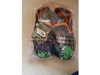 14 pairs brand new ben 10 slippers