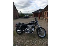 03 Harley Davidson Sportster, 100 yr ED, pristine, low miles, ideal to chop