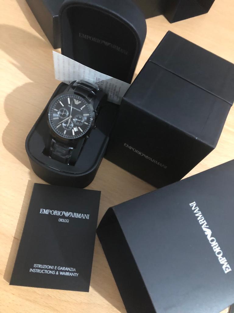 d0dd6a7bd8bc Armani Watch men s brand new warranty. Nottingham ...
