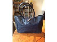 Longchamp Roseau Croco Tote Bag
