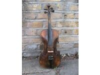 Full sized violin with case no bow