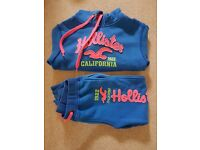 Girls hoodie and matching joggers size 164cm