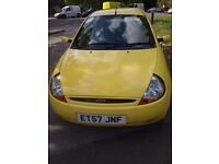 Ford ka,2008,1.3petrol,service history,3 doors,clean,mot till 6/01/18, very good engine and gearbox