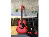 Acoustic guitar £25 cash