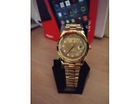 Rolex daydate gold 41mm