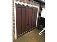 Electric Anglian Garage Door- 2 fobs