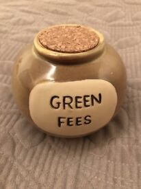 Golf Fees Money Bank (New Excellent)