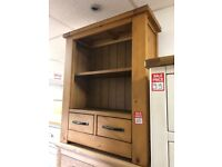 small 2 drawer bookcase