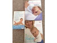 Three excellent pregnancy books