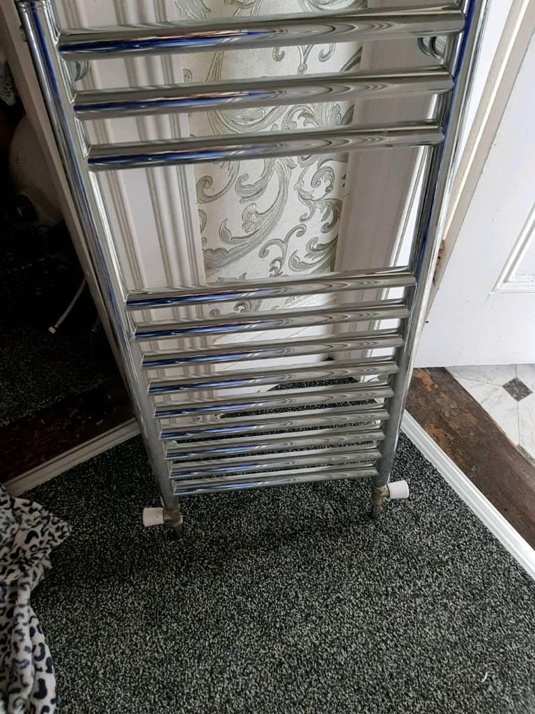 Chrome radiator vertical