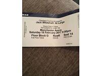 2x Jack Whitehall Floor Tickets Manchester Sat 18th Feb 17