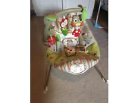Excellent condition Fisher Price woodsy friends boubcer