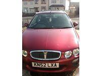 Rover 25 £600 o.n.o
