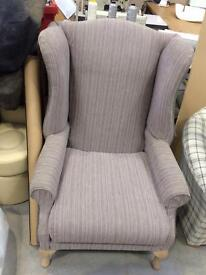 Newly recovered Wing chair