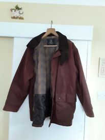 Mens wax jacket