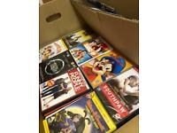 3,200 mixed DVDs with boxsets and kids some sealed