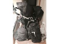 iCandy Apple 2 Pear Black Travel System Double Seat Stroller