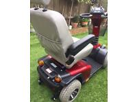 Pride XL8 mobility scooter with new batteries