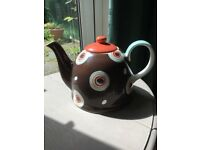 Brand New Whittard Dome Hand Painted Tea Pot