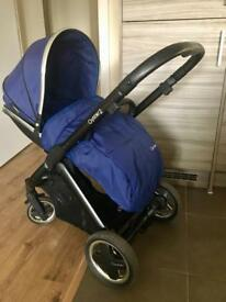 Oyster 2 Pram. Footmuff & car seat adapters