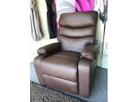New Ashby Manual Recliner Bondedleather Armchair