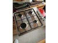 New unbranded gas hob