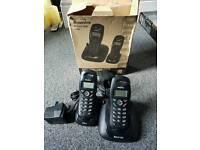 Binatone cordless home phone set