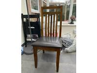 Like new two dining chairs