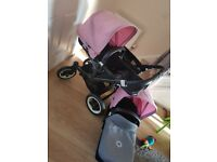 Bugaboo donkey twin/single pram