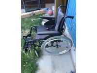 Invacare self-propelled Wheelchair.