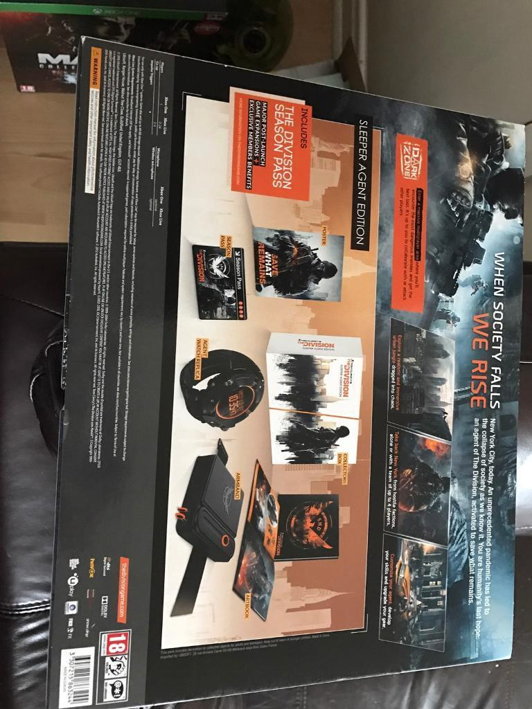 Tom Clancy the division includes watchin Bury, ManchesterGumtree - Tom Clancy the division special edition brand new never been used includes watch