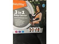 Babyway 3 in 1 baby carrier RRP £29.99