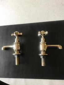 Gold plated taps