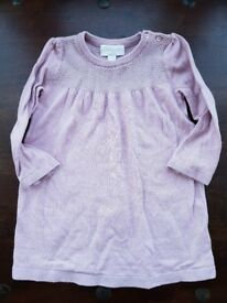 Little White company lilac dress 9-12 months