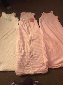 Toddler sleeping bags x 3