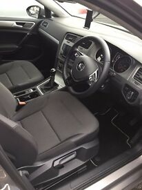 Volkswagen Golf 1.4 TSI BlueMotion Tech Match 5dr (start/stop) (silver) 2015 with 2 FREE SERVICES