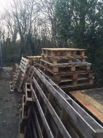 FREE wooden pallets of all shapes and sizes - collection only.