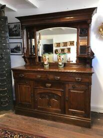 Superb liberty art Nouveau Mahogany dresser